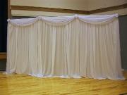 Интерьер зала 9 - драпировка тканью