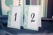 Номера столов 1
